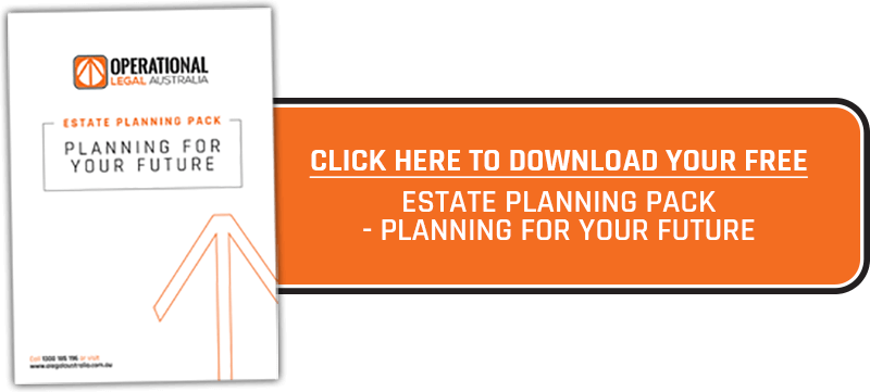 Download your free estate planning pack